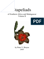Stapeliads of Southern Africa and Madagascar Vol 2