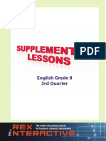 Supplemental English High School Grade 8 3rd Q