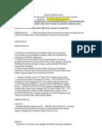 Surat Keputusan Kredensial Perawat