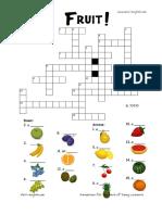 Free printable fruit crosswords and fruit worksheets.pdf