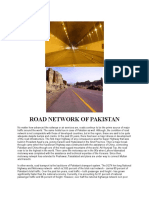 Road Network of Pakistan