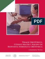 Triage Obstétrico Código Mater y Equipo de Respuesta Inmediata Obstétrica
