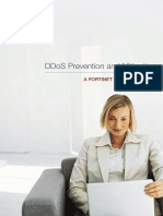 Fortinet DDoS Strategy Guide