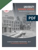 UBS CHANDIGARH FINAL PLACEMENT Brochure 2017