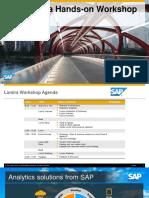 SAP Lumira Overview Workshop 1 25