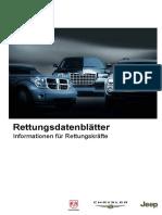 Chrysler Jeep Dodge Rettungsdatenblaetter