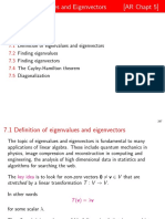 7-Eigenvalues and Eigenvectors