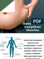 Dampak Dan Komplikasi Obesitas