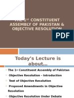 1st Constituent Assembly of Pk