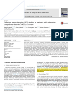 Diffusion Tensor Imaging (DTI) Studies in Patients With Obsessivecompulsive Disorder (OCD) Review