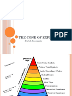 The Cone of Experience