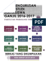 Alur Pengurusan Kartu Studi Mahasiswa