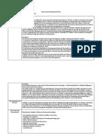 classroom management plan draft