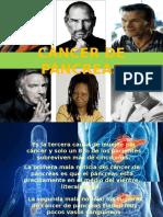 Elevator Pitch-cancer de Pancreas