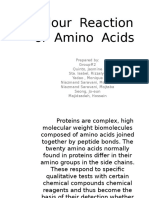 60623656 Colour Reaction of Amino Acids
