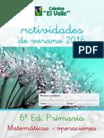 6EP Matematicas Operaciones y Problemas
