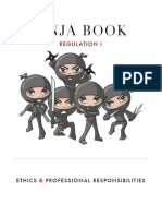 NINJA Book Reg 1 Ethics
