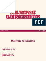 Motivate to Educate
