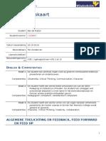 beoordelingskaart portfolio voe1