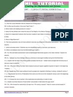 10th Social Science Sa-1 Original Paper 2016-17-4