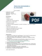 Bizcocho de Mermelada y Chocolate Panificadora