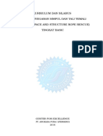 9. Kursil Refreshing Penyegaran Simpul Dan Tali Temali Tingkat Basic