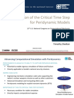 Estimation of the Critical Time Step for Peridynamic Models