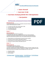 [Nov] New 70-486 Exam Dumps With PDF and VCE Download