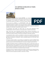 Compresores Para Optimizar Producción en Vuelta Grande Se Encuentran en Arica