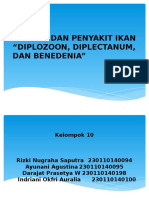 Ppt Parasit Dan Penyakit Ikan