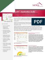DS EZRF 1107 Application-suite