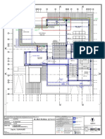 Plans With Colomn Sizes(Plumbing)_24.4.15-Second Floor Plumbing Water Line Layout