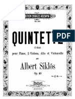 Quintet Cello Part
