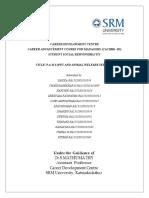 Career Development Course Report