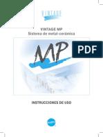 Mp Instructions Spanish