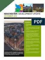 Manchester Development Update - November 2016