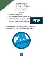 Mapa Certificacao Pmi Rmp
