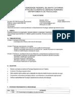 PSI7002 Psicologia Organizacional