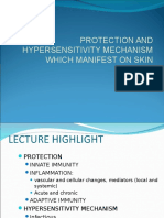Protection and Hypersensitivity Mechanism Which Manifest on Skin-18!10!10