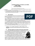 guiainiciosdelpresidencialismomodernoenchile-130404134203-phpapp01