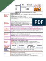 Ficha Simplificada HCl
