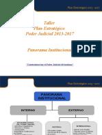 Panorama Institucional Presentacion