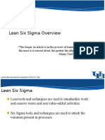01 Lean Six Sigma Overview