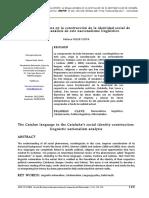 Catalan Contruccion Identidad