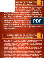 3. Antecedentes Clasicos. Fisiocracia