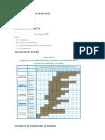 Formulario y Tablas Examen 1 Caminos