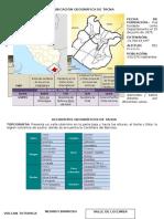 Datos Geograficos de Tacna