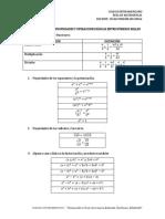 Resumen de Algunas Propiedades y Operaciones Básicas Entre Números Reales