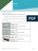 BTP_001B-03-09_Pecas_de_Reposicao_ARV_570_Hussmann