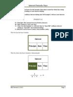 Interest formulas-days